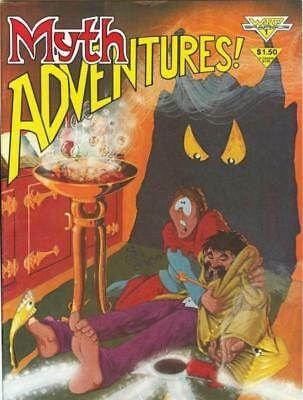 Myth Adventures V1 #1 1984 Comic WaRP Graphics Part 1: Hello, I Must Be Going