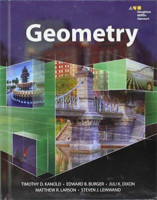 HMH Geometry: Student Edition 2015 by HOUGHTON MIFFLIN HARCOURT