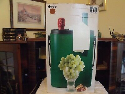 decor byo insulated wine cooler