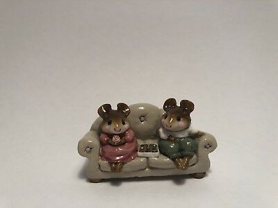 WEE FOREST FOLK Couch Figurine