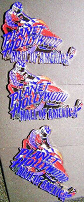 Planet Hollywood: Pin Collection: Mall Of America Snowmobile Rider (3)