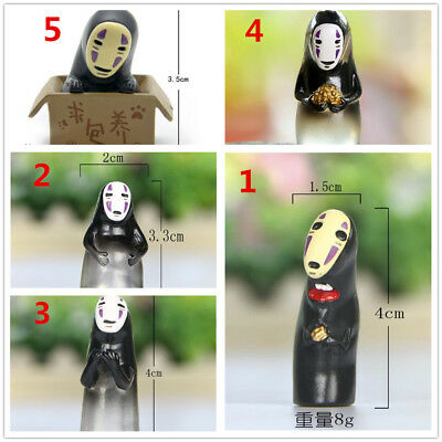 Spirited Away Chihiro No Face Man Faceless Mini Figure Micro Landscape Figurine