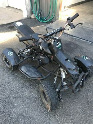 Quad Pocket Rocket, mini bike dirt 4 wheeler 50 cc