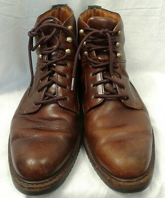 7285028f53c Cole Haan country boots Mens sz 10.5 M work boot lace up brown leather