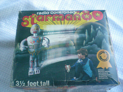 Starman Vintage Radio Controlled Toy In Box
