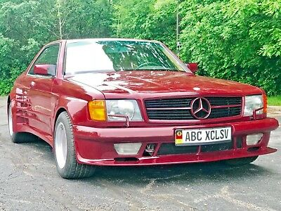 1986 Mercedes-Benz 500-Series 560 SEC 1986 MERCEDES 560 SEC ABS EXCLUSIVE WIDE BODY KIT KOENIG SPECIAL AMG E500