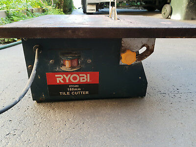 Ryobi ETC450 Wet Tile Saw in good working condition