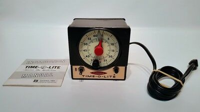 Time o light deluxe dark room Professional P-72 Timer with manual Tested