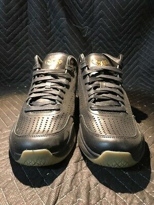 online retailer 552a5 034f3 new zealand mens nike kobe x mid ext shoes size 11.5 nib 225 black gold  802366