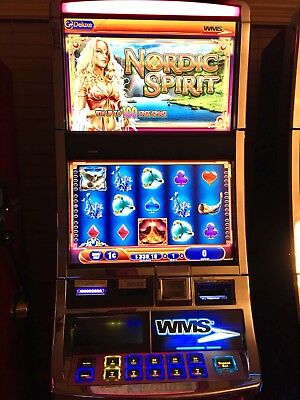 WMS BB2-E Slot machine with Emotive Lights And Nordic Spirit Software