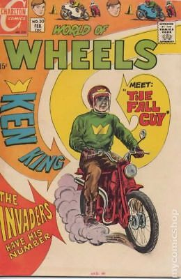 World of Wheels #30 1970 VG Stock Image Low Grade
