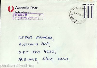 L1719cgt Australia SA Clarence Gardens on cover