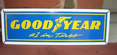 GOODYEAR #1 Tires Shop Sign high performance racing Tires Store Mechanic 7day