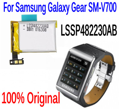 Original SM-V700 LSSP482230AB battery For Samsung Galaxy Gear SM-V700