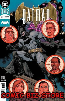 Batman Sins Of The Father #5 (Of 6) (2018) 1St Printing Dc Comics Universe