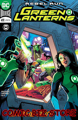 Green Lanterns #49 (2018) 1St Printing Main Cover Bagged & Boarded Dc Universe