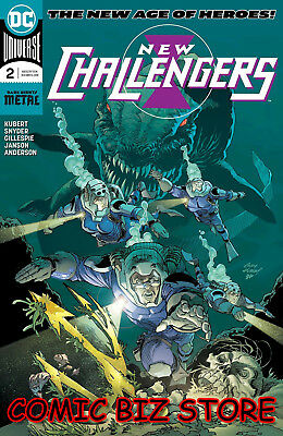 New Challengers #2 (Of 6) (2018) 1St Print Dc Universe Rebirth Bagged & Boarded