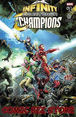 Infinity Countdown Champions #1 (Of 2) (2018) 1St Printing Marvel Comics
