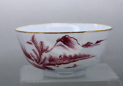 Fine Quality Translucent Chinese Porcelain Bowl Hand Painted Circa 1930s