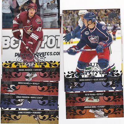 2008-09 Upper Deck Series 1 and 2 Young Guns Rookie Card RC - Pick From List