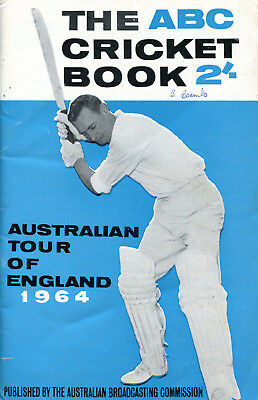 1964 ABC Cricket Book