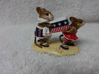 Wee Forest Folk Cooler Kids M-294  R/W/B Patriotic MIB LTD ED