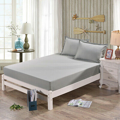 Luxury Waterproof Quilted Mattress Protector Hypoallergenic Bed Cover Sheet
