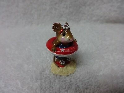 Wee Forest Folk Little Dipper M-278  R/W/B Patriotic MIB LTD ED