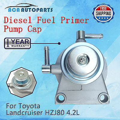 Toyota Diesel Fuel Filter Primer Pump fit Landcruiser 80 Series HZJ80 4.2L 8mm