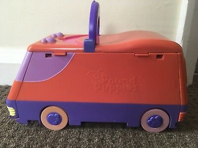Vintage Pound Puppy Camper Van Polly Pocket Style