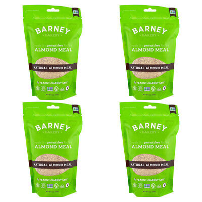 4X Barney Butter Almond Meal Natural Vegan Gluten Free Peanut Allergy Safe Food