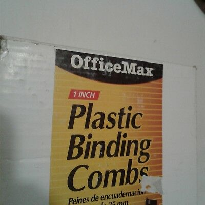 """New Plastic Binding Combs, 1"""", (almost) 50 pieces"""
