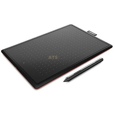 Wacom CTL-672 Bamboo | One M Stifttablett medium WIN MAC RED Edition CTL-671