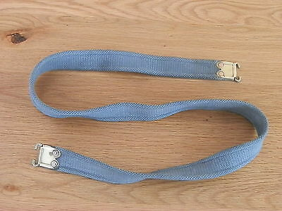 Original L1A1 // S.L.R. Webbing Rifle Sling With Brass Fittings ( R.A.F. blue.)