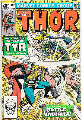 Thor #312 Bronze Age Marvel Comics UK Price Variant VF/NM