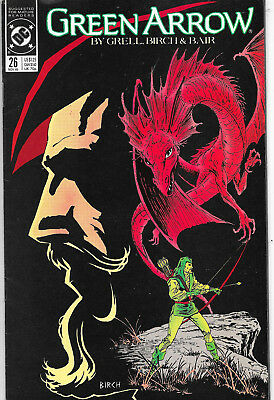 Green Arrow #26 DC Comics Mike Grell NM-