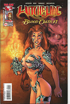 Witchblade Blood Oath #1 Top Cow NM-