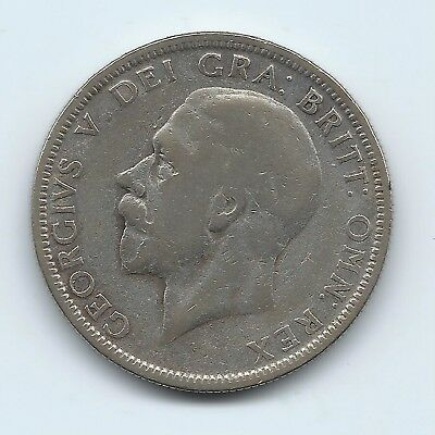 Great Britain 1929 Silver Florin- 2 Shillings- No Reserve