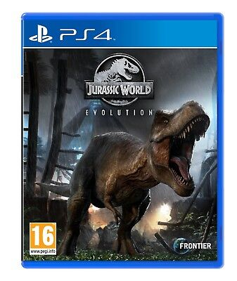 Jurassic World Evolution (PS4) BRAND NEW SEALED OFFICIAL BEST PRICE