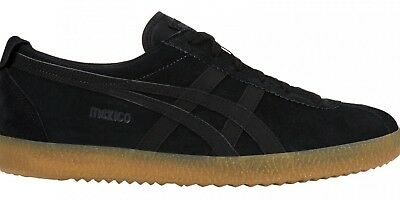 Boys Onitsuka Tiger Mexico Delegation Black trainers Sneakers shoes Size UK 3.5