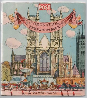 RARE Picture Post Coronation Peep-Show Book 3D View Westminster Abbey 1953