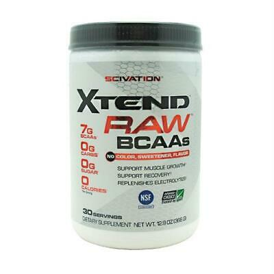 Scivation Xtend Raw Unflavored - 30 Servings