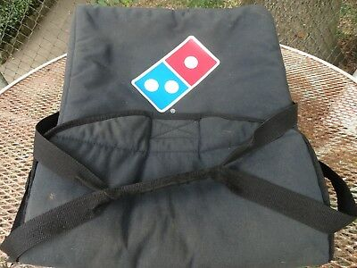 DOMINO PIZZA INSULATED DELIVERY BAG, GUC, 20x18x9