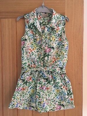 Girls Floral Playsuit From next Age 7