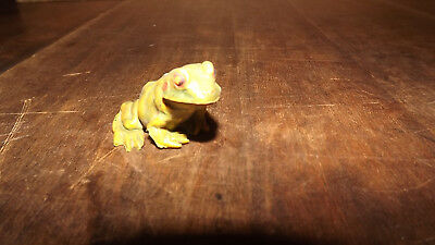 Rubber Toad Frog Figurine