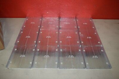 6 Pair Cooper B-Line 9A-1006 Cable Tray Splice Plates