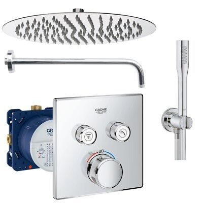 Grohe Grohtherm SmartControl Thermostat Unterputz Duscharmatur Set UP Armatur