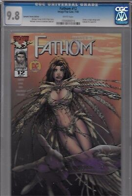Fathom #12 Dynamic Forces Edition CGC 9.8 Image/Top Cow 7/2000