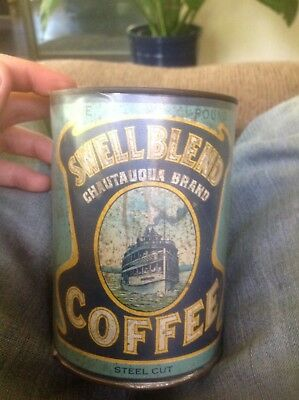 swell blend coffee tin