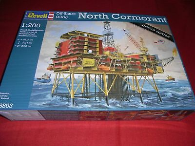 REVELL® 08803 1:200 Off-Shore Oilrig NORTH CORMORANT NEU OVP